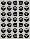 Star Wars Darth Vader and/or Storm Trooper Helmet Inspired Edible Icing Cupcake Decor Toppers in your choice of assortment - SW3