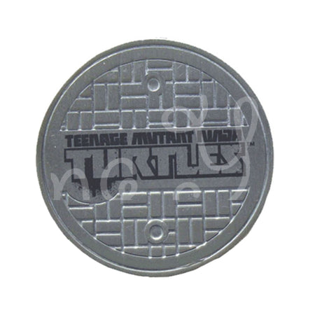 TMNT Teenage Mutant Ninja Turtle Sewer Cover Edible Icing Sheet Cake Decor Topper - TMNT12