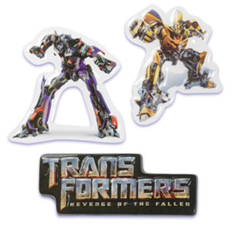 Transformers Pop Top Cake Topper Set