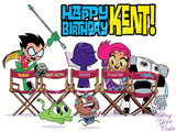 Teen Titans Go to the Movies Edible Icing Sheet Cake Decor Topper - TT1