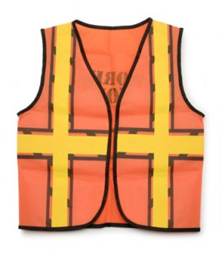 Non-Woven Fabric Kids Construction Vest