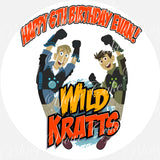 Wild Kratts Edible Icing Sheet Cake Decor Topper - WK1