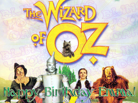 The Wizard of Oz Dorothy & Friends Edible Icing Sheet Cake Decor Topper - WOZ3