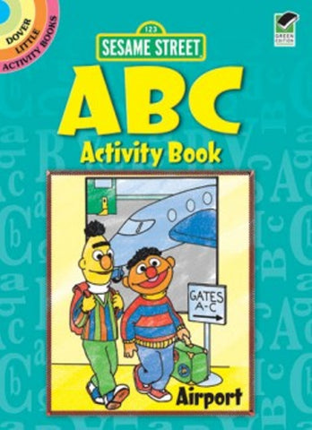 Sesame Street ABC Little Activity Book