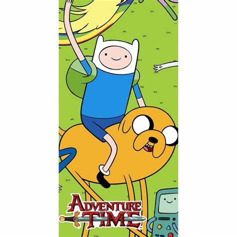 Adventure Time Party Tablecover
