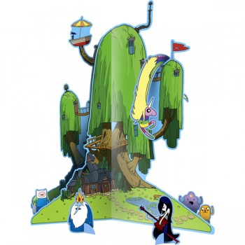 Adventure Time Centerpiece Set