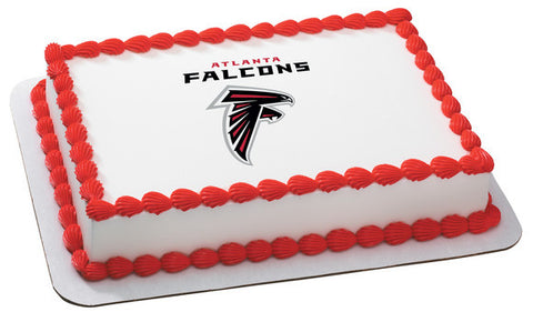 NFL Atlanta Falcons Edible Icing Sheet Cake Decor Topper