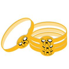 Adventure Time Party Favor Wristbands