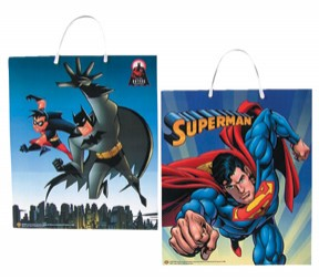 Batman/Superman Treat Bag Halloween Candy Trick or Treat Bag