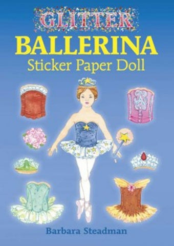 Glitter Ballerina Sticker Paper Doll Little Activity Book