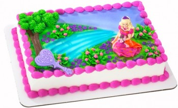 Barbie and the Diamond Castle Cake Decoset