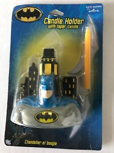 Batman Candle Holder with Taper Candle