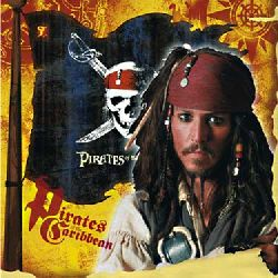 Pirates of the Caribbean Beverage Napkins