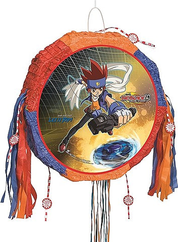 Beyblade Drum Pull Pop-Out Piñata