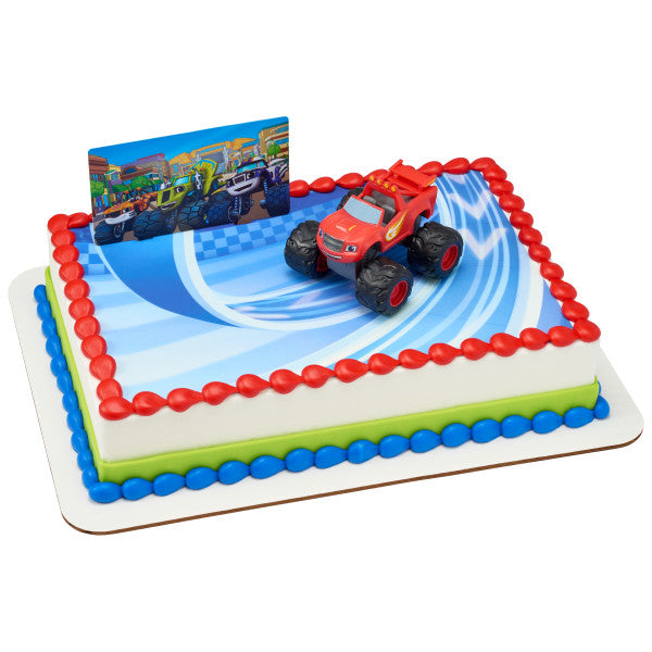 Blaze and the Monster Machines Cake Decor Topper