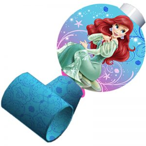 Disney Princess Ariel the Little Mermaid Sparkle Blowouts Party Supplies