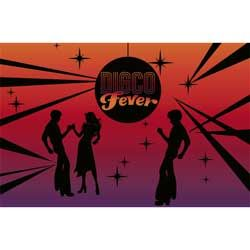 Disco Fever Wall Mural Banner