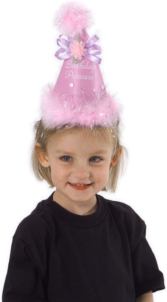Fancy Birthday Princess Cone Hat with Bow by Elope