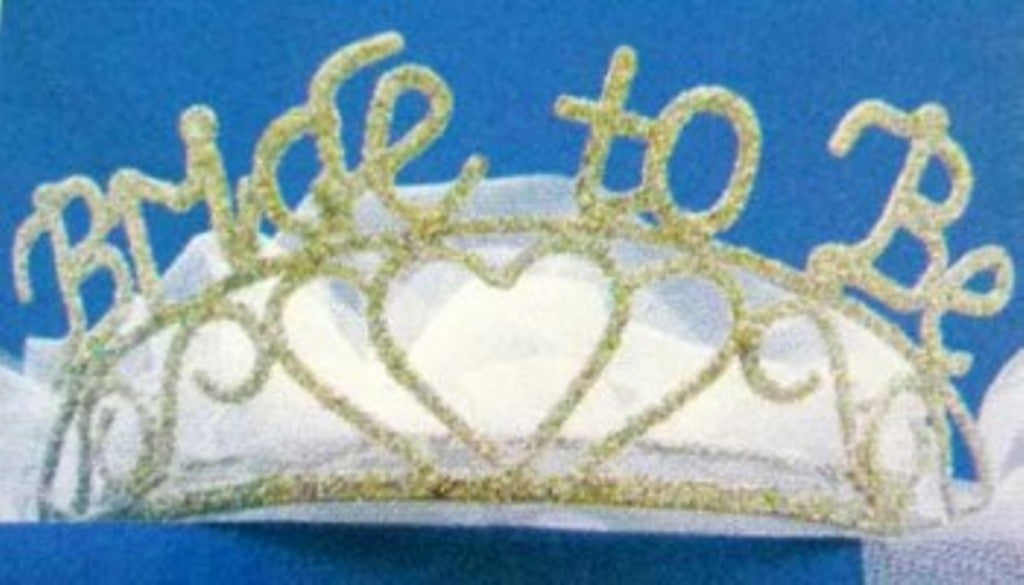 Bride-to-Be Veil & Sparkle Tiara