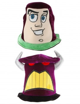 Toy Story Buzz Lightyear & Emperor Zurg Reversible Hat by Elope