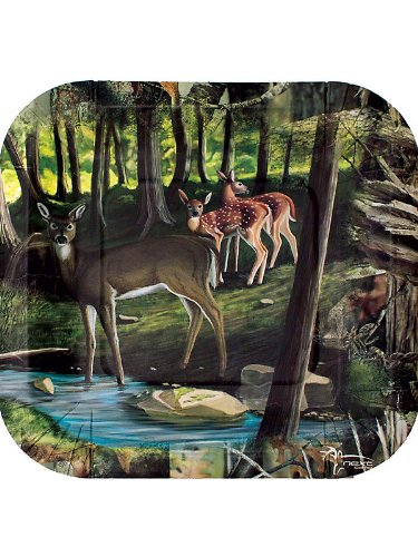 Havercamp Next Camo Deer Hunting Dessert Plates