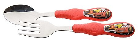 Disney Cars Flatware - Fork and Spoon