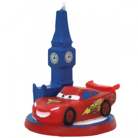 Disney Cars World of Cars Birthday Candle