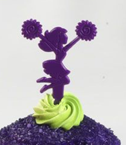 12 Cheerleader Jump Cupcake Picks