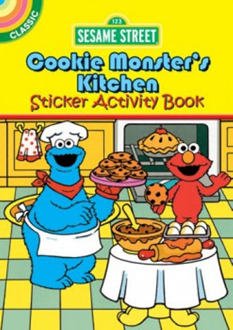 Sesame Street Cookie Monsters Kitchen Sticker Little Activity Book