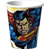 Superman Birthday Party Birthday Cups.