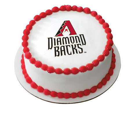 MLB Arizona Diamondbacks Edible Icing Sheet Cake Decor Topper