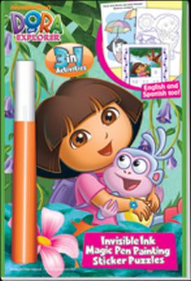 Dora the Explorer 3 in 1 Invisible Ink & More Activity Book