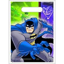 Batman The Brave And The Bold Favor Bags