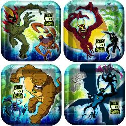 Ben 10 Alien Force Dessert Plates