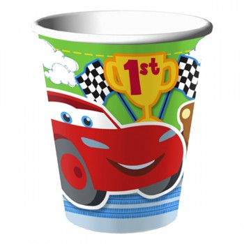 Disney Cars 1st Birthday Party Cups