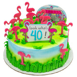 Flamingo a Cake Topper Decor