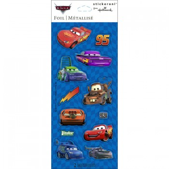 Disney Cars Foil Stickeroni Stickers