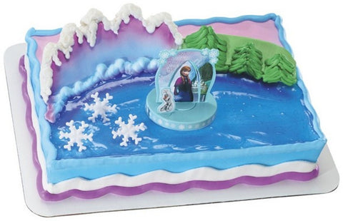 Disney Frozen Anna & Elsa Cake Decor Topper