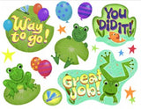 Frogs Moveable Decorations Stickers