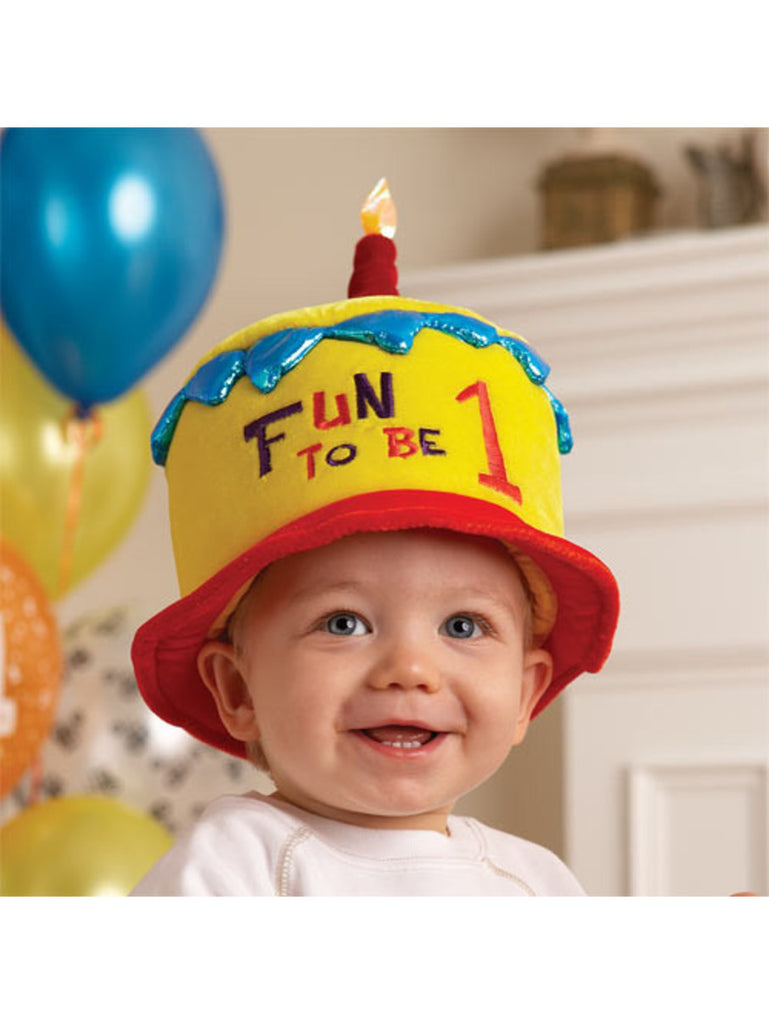 Fun to be One Yellow Party Hat by Elope