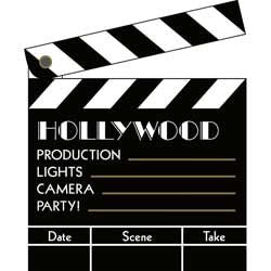 Movie Accessories Clapboards