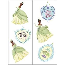 Disney Princess and the Frog Tiana Temporary Tattoos