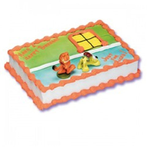 Garfield & Odie Cake Decorating Topper