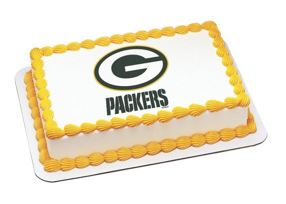 NFL Green Bay Packers Edible Icing Sheet Cake Decor Topper