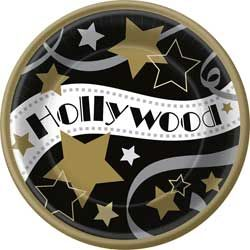 Hooray for Hollywood Banquet Plates
