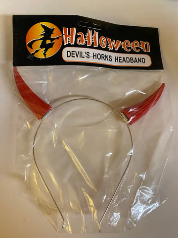 Devil Horns Headband