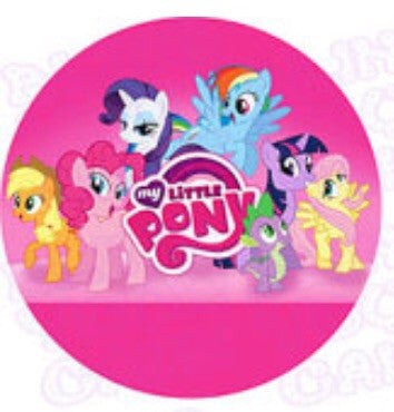 my little pony cake topper my pony edible icing cake decor topper bling your 6078