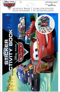 Disney Cars Activity & Sticker Book