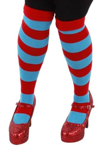 Dr. Seuss Thing 1 and 2 Stripey Socks by Elope