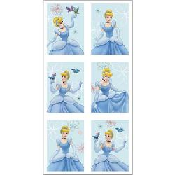Cinderella Stickers.